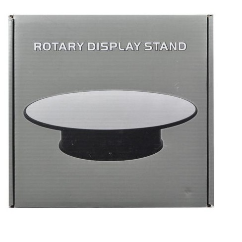"Rotary Display Stand 8 For 1/24 1/64 1/43 Model Cars With Mirror Top"" - image 1 of 1"