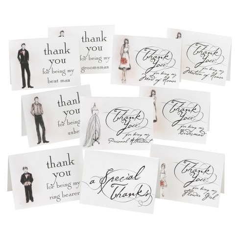 Bridal Shower Party Thank You Cards (30ct) - image 1 of 1