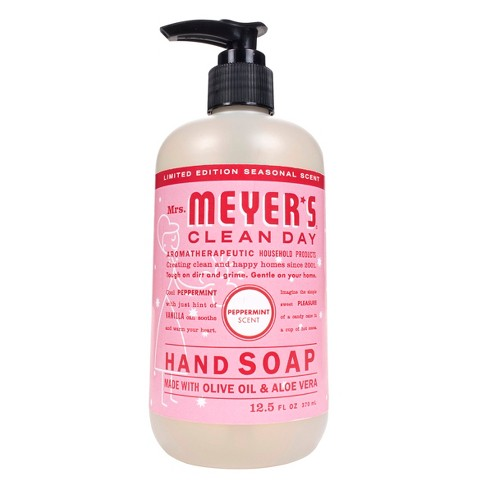 Mrs. Meyer's Peppermint Liquid Hand Soap - 12.5oz - image 1 of 4