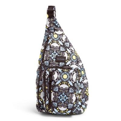Vera Bradley Women's Recycled Lighten Up Sling Backpack