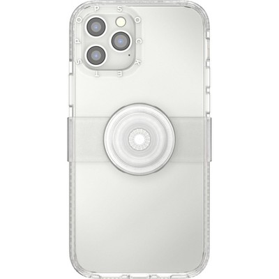 Popsockets PopCase x PopGrip Slide for Apple iPhone - Clear