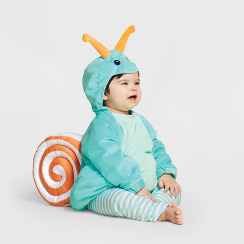 Baby Plush Snail Halloween Costume Vest - Hyde & EEK! Boutique™ - image 1 of 1