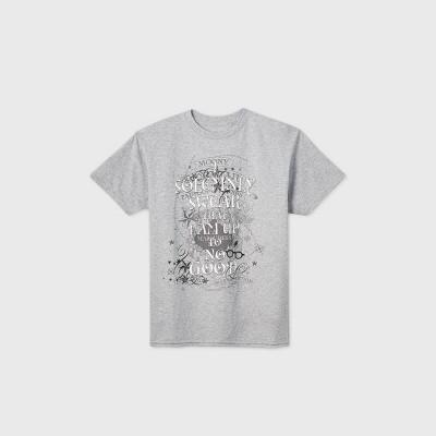 Boys' Harry Potter Short Sleeve Graphic T-Shirt - Gray