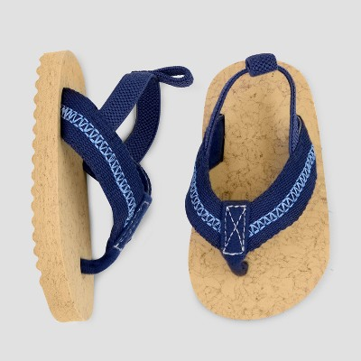 Baby Boys' Flip Flop - Just One You® made by carter's Blue Newborn