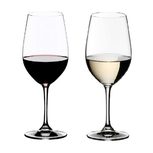 Riedel 14 Ounce Vinum Riesling Grand Cru and Zinfandel Clear Crystal Glass Set for White and Red Wines with Microfiber Polishing Cloth, (2 Pack) - image 1 of 4