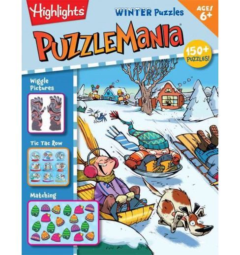 Puzzlemania Winter Puzzles (Paperback) - image 1 of 1