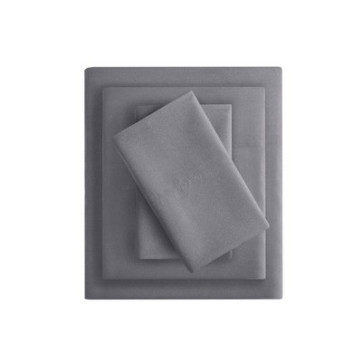 Charcoal Infused Microfiber Sheet Set