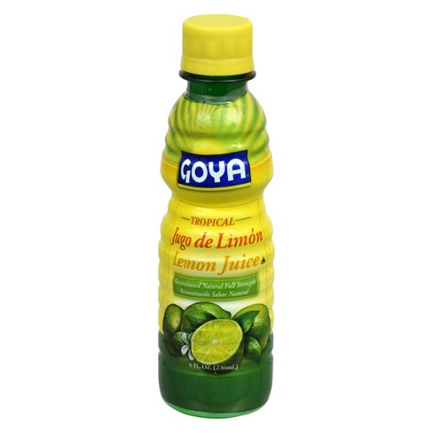 Goya Tropical Lemon Juice - 8 fl oz - image 1 of 4