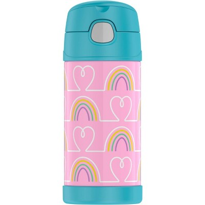 Thermos 12oz FUNtainer Water Bottle - Hearts/Stars
