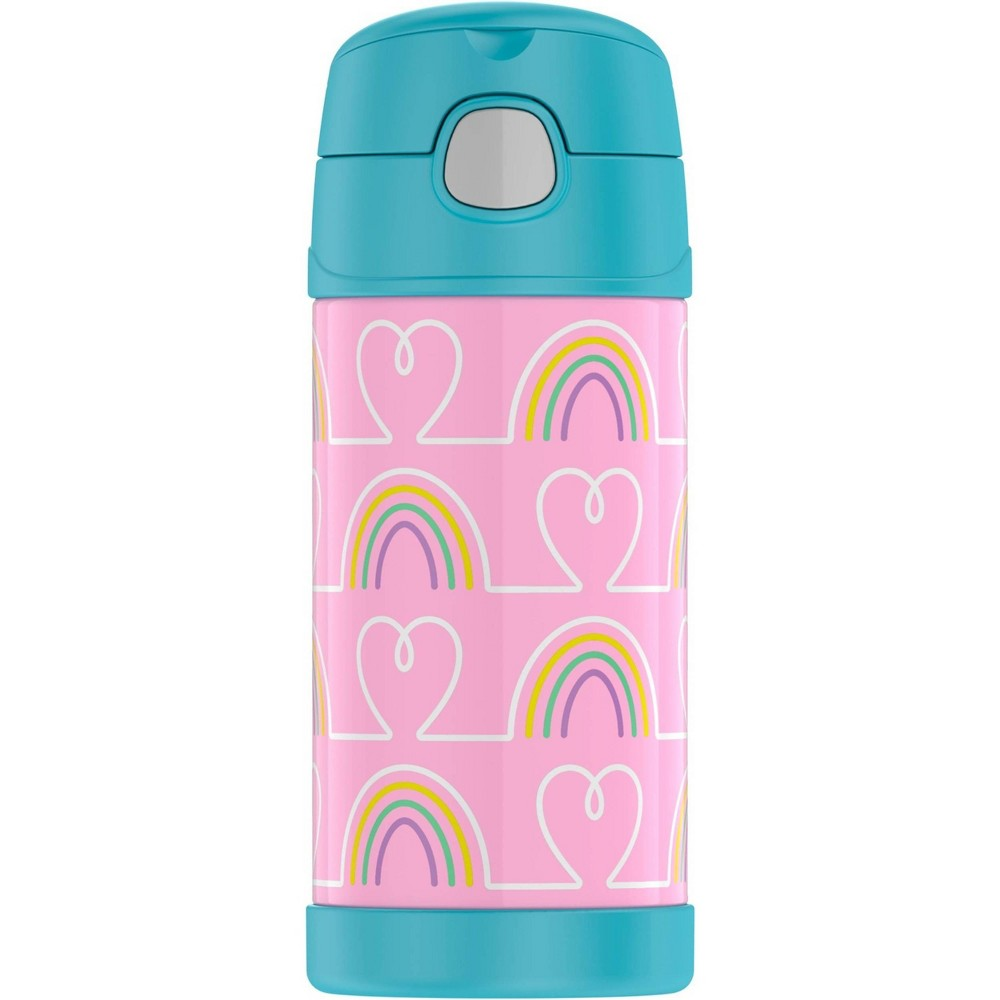 Image of Thermos 12oz FUNtainer Water Bottle - Hearts/Stars