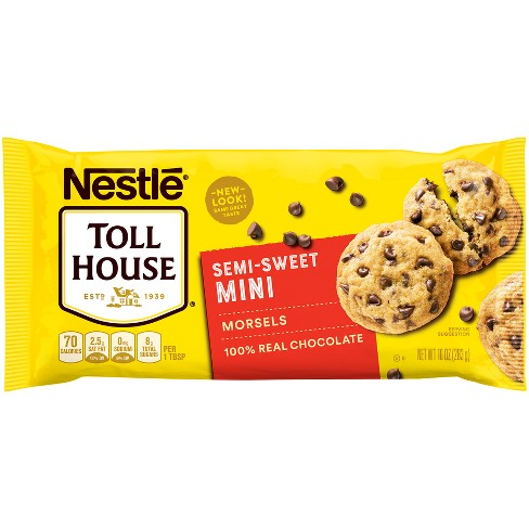 Nestle Toll House Semi-Sweet Chocolate Mini Morsels - 10oz - image 1 of 4