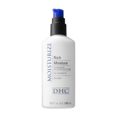 DHC Rich Moisture Facial Moisturizer - 3.3 fl oz