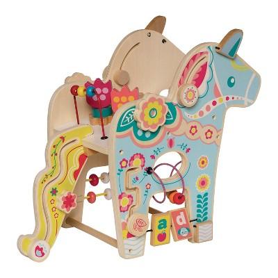 Manhattan Toy Playful Pony Wooden Preschool Activity Center