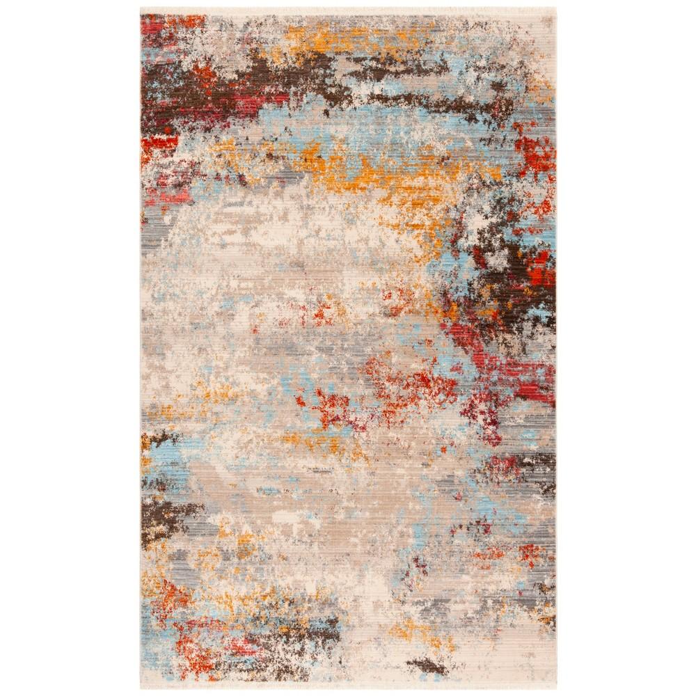 22X8 Loomed Marble Runner Rug Gray - Safavieh Discounts