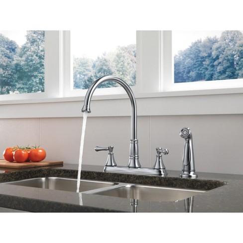 Delta Faucet 2497lf Cassidy Kitchen Faucet