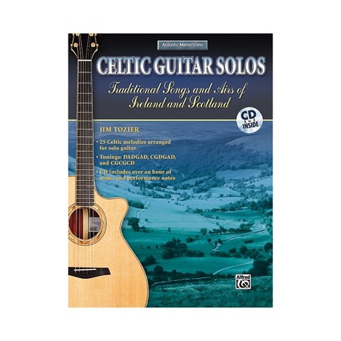Alfred Celtic Guitar Solos Book with CD - image 1 of 1