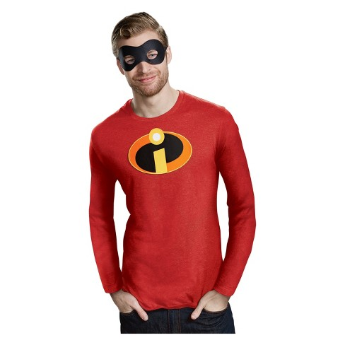 adult the incredibles 2 adhesive patch and eye mask halloween costume kit target