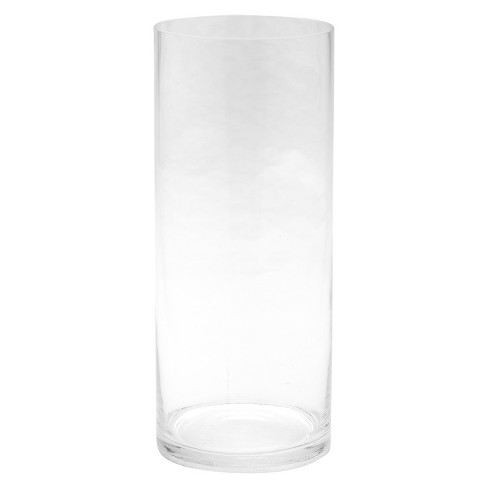 Diamond Star Glass Cylinder Vase Clear 12x5 Target
