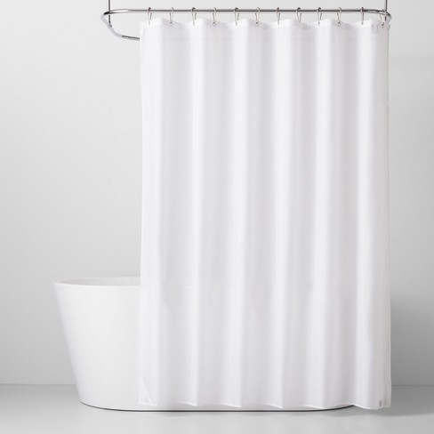 Fabric Shower Liner White 71 X71 Made By Design Target