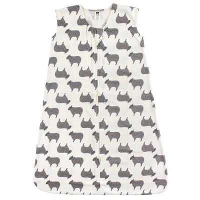 Hudson Baby Infant Cotton Sleeveless Wearable Sleeping Bag, Sack, Blanket, Sheep