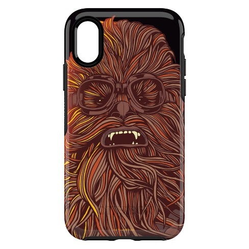new product 20594 6f5f8 OtterBox Apple iPhone X/XS Solo: A Star Wars Story Symmetry Case - Chewbacca