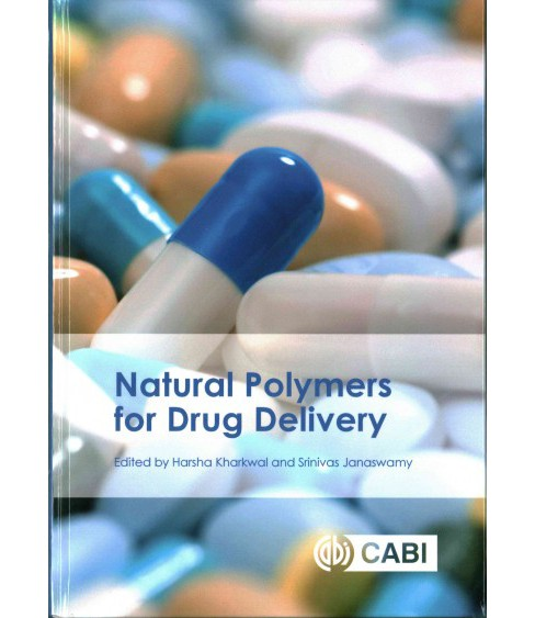 Natural Polymers for Drug Delivery (Hardcover) - image 1 of 1