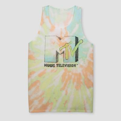 Men's MTV Tie-Dye Tank Top