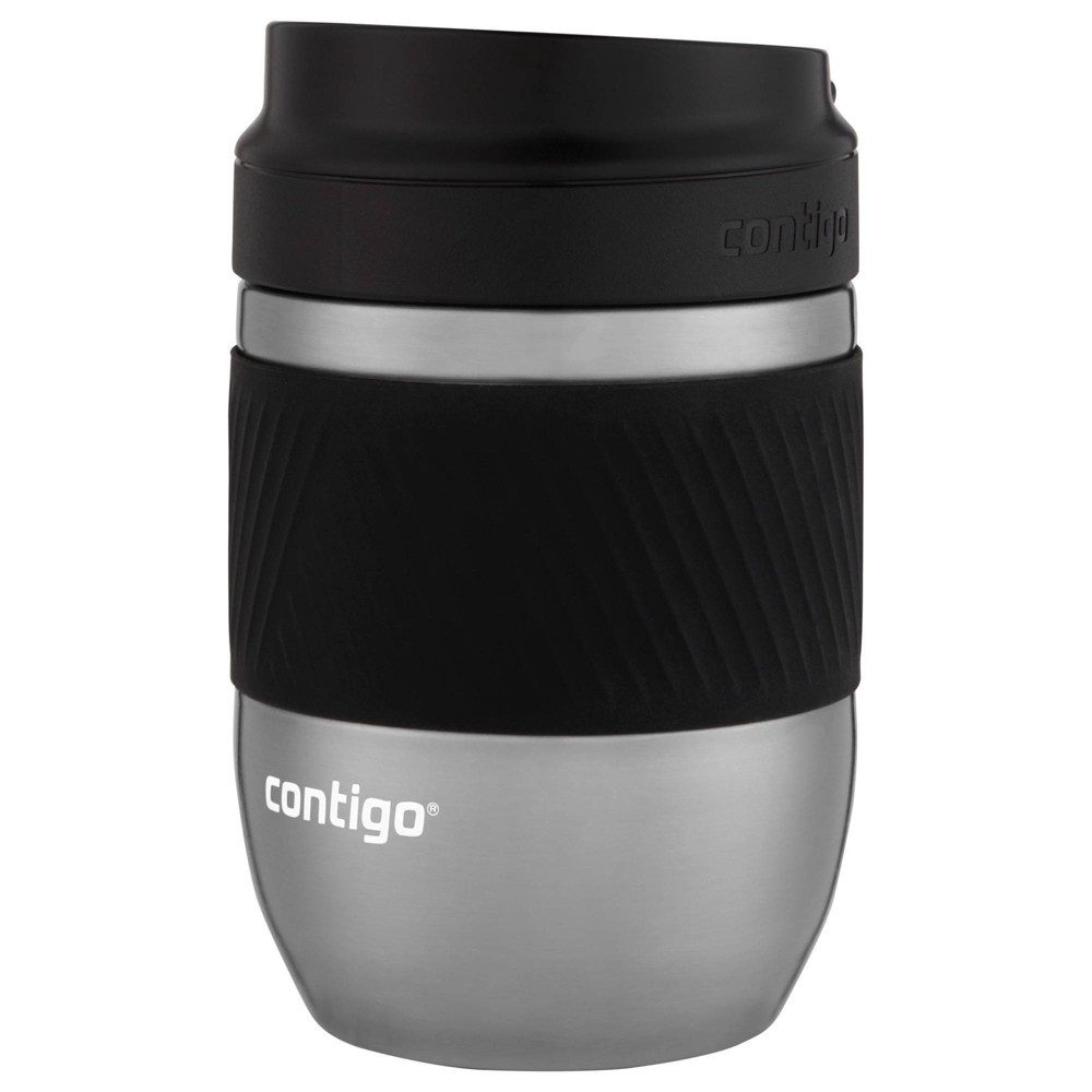 Image of Contigo 10oz Stainless Steel SNAPSEAL Vacuum-Insulated Travel Mug Silver