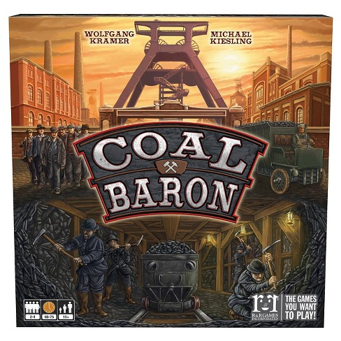 R&R Games Coal Baron Board Game - image 1 of 1