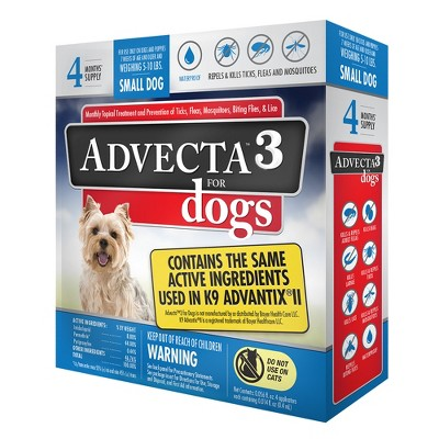 Dog Medication & Health Supplies: Advecta 3 for Dogs
