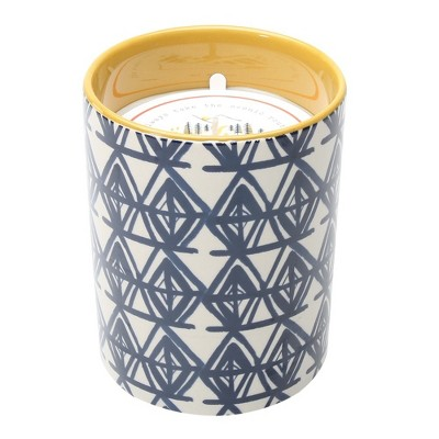 Decaled Ceramic Candle Always Take the Scenic Route 15oz - Happy Place