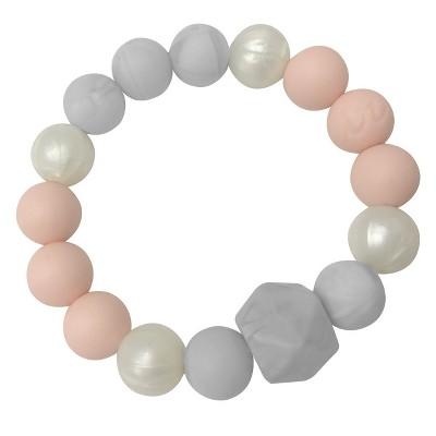 Itzy Ritzy Teething Bracelet - Pink