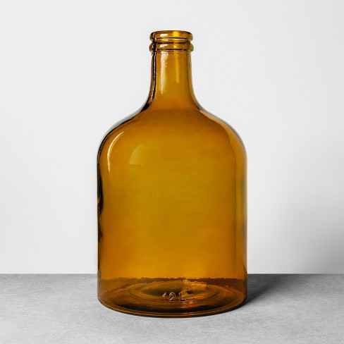 12L Long Neck Bottle Amber - Hearth & Hand™ with Magnolia - image 1 of 3