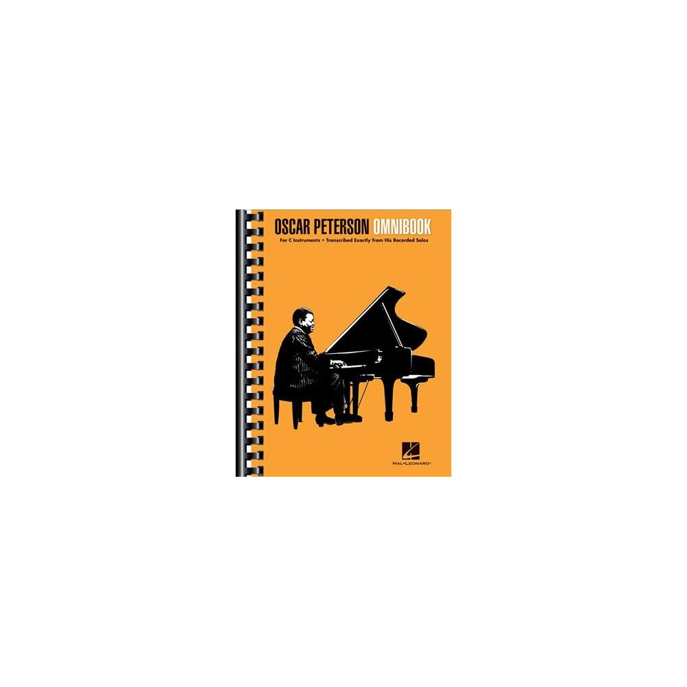 Oscar Peterson Omnibook : Transcribed from his recoreded Solos - Arranged for single-line instruments, C