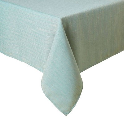 """60""""X84"""" Harper Tablecloth Blue - Town & Country Living"""
