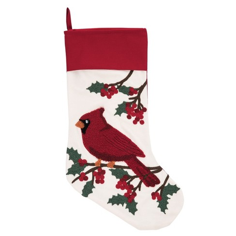 C F Home Cardinal Berries Stocking Target
