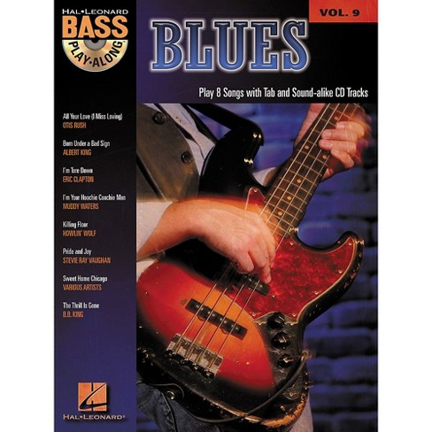 Hal Leonard Blues - Bass Play-Along Series Volume 9 Book and CD - image 1 of 1