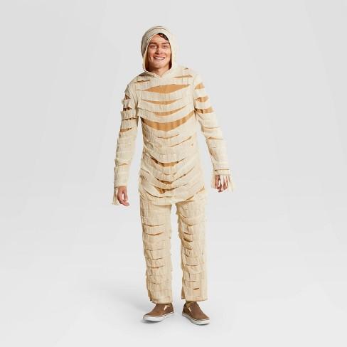 Adult Mummy Halloween Costume Jumpsuit - Hyde & EEK! Boutique™ - image 1 of 3