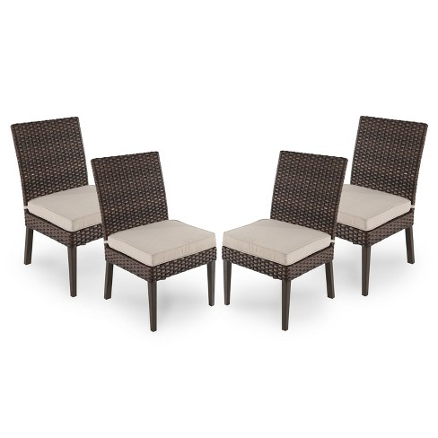 Halsted 4pk All Weather Wicker Patio