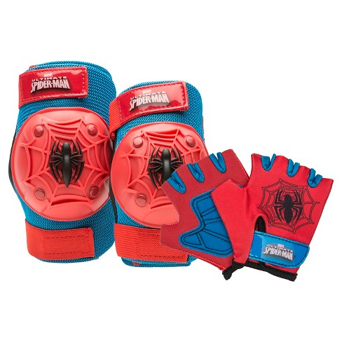 Bell Sports Marvel Spider-Man Kids' 6pc Protective Pad Set - image 1 of 1