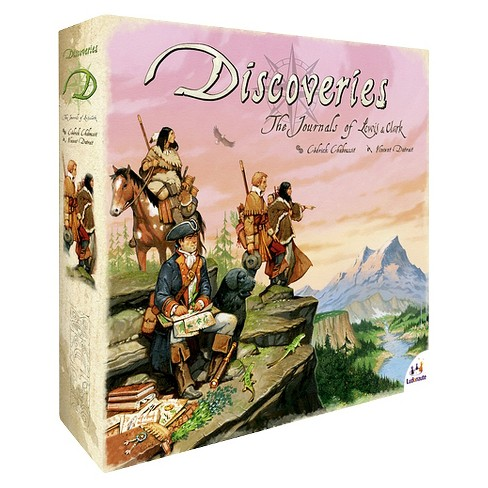Discoveries The Journals of Lewis & Clark Board Game - image 1 of 3