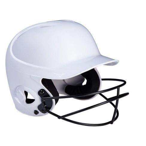 Mizuno Mvp Series Solid Batting Helmet With Fastpitch Softball Mask - image 1 of 1