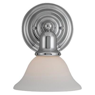 "7.5"" Sussex One Light Wall / Bath Sconce Chrome - Sea Gull Lighting"