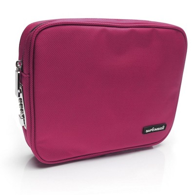Safe Inside Locking Privacy Pouch - Large Pink