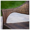 Cliff Set of 2 Wicker Patio Chairs - Multi-Brown - Christopher Knight Home - image 2 of 4