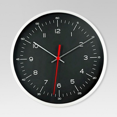 6  Table Clock Silver/Black - Project 62™
