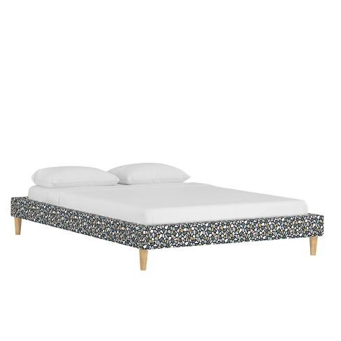 Queen Platform Bed Bold Terrazzo Lavender - Cloth & Company - image 1 of 4