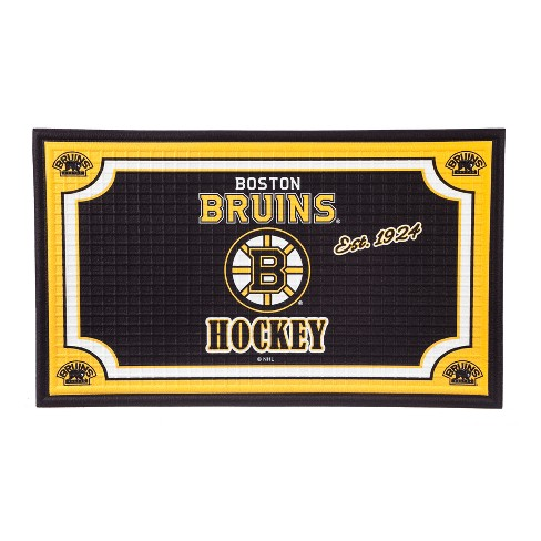"NHL Embossed Welcome Mat 18""x30"" - image 1 of 5"
