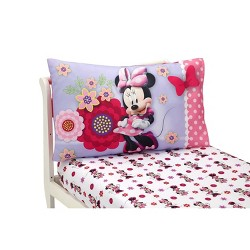 Mickey Mouse & Friends Minnie Mouse Toddler 4pc Bedding Sets ...