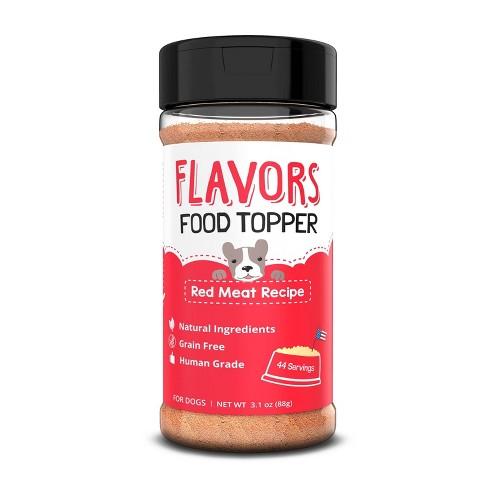 Flavors Food Topper Dog Treats - 3.1oz - image 1 of 3